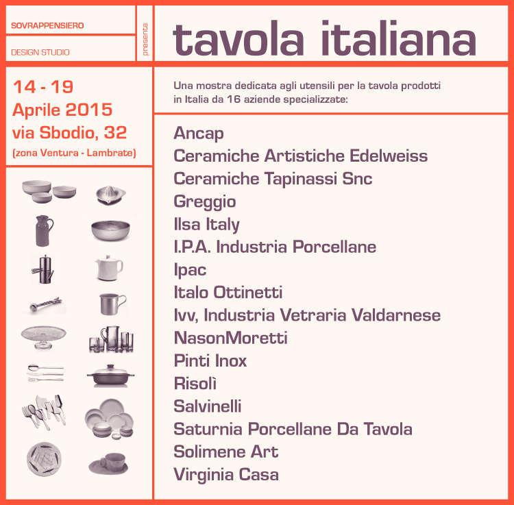 tavola italiana invito